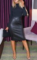 Women's High Neck Bodycon Dress - S/M/L/XL