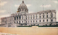 Postcard State Capitol St Paul Minnesota Posted