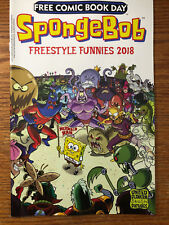Spongebob Freestyle Funnies #1 Bongo Comics FCBD 2018 NM Free Comic Book Day