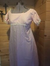 Custom jane austen regency 1812 colonial Empire waist pride & prejudice Dress