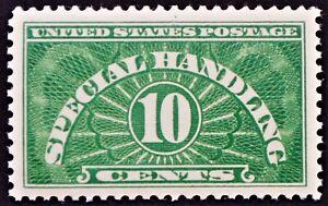 U.S. Mint #QE1 10c Special Handling, Superb Jumbo. NH. Post Office Fresh! A Gem!