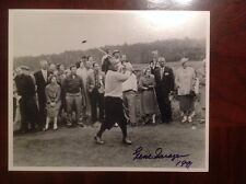 VERY RARE GENE SARAZEN SIGNED PHOTO RARELY SEEN!!!