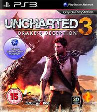 Uncharted 3 Drakes Engaño PS3 * En Excelente Estado *