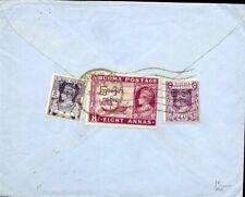 426877) Burma / Birma MiF Aufdrucke Interims-Regierung, Luftpost nach GB