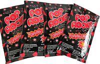 Pop Rocks 20 Packs Strawberry Popping Candy Bulk Lollies Candy Buffet Favours