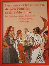 Les cartes et les estampes de Géo-Fourrier et Tillac /Ariège Béarn Bigorre ....