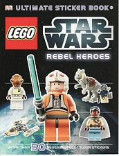 CHILDREN'S DK ULTIMATE REUSABLE STICKER BOOK: LEGO STAR WARS: REBEL HEROES