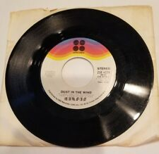 "KANSAS ** DUST IN THE WIND / PARADOX"" 45 RPM RECORD 7"""