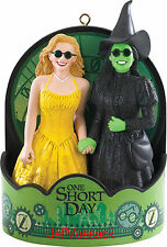 """Wicked """"One Short Day"""" Broadway Musical  2015 Carlton Ornament   SCB"""