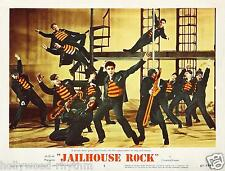 ELVIS PRESLEY Rockin With His Cell Mates For JAILHOUSE ROCK 11x14 LC Print 1957