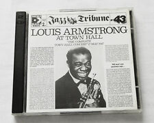 Jazz Tribune No.43 L.ARMSTRONG At Town Hall FRENCH 2CD RCA ND 89746(1992) NM