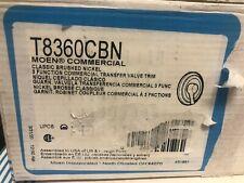 Moen Commercial Shower Valve Trim in Brushed Nickel T8360CBN