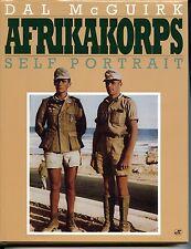 AFRIKAKORPS SELF PORTRAIT, McGUIRK, MOTORBOOKS NEW 1992 HARDBOUND BOOK / Offer?