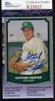 Jim Catfish Hunter Jsa Coa Autographed 1988 Pacific Authentic Hand Signed