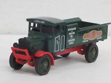"Leyland 3 ton Pritschenwagen, rot/dklgrün ""A.Luff & Sons"", o.OVP, Matchbox, 1:43"