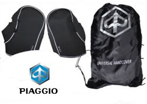 Manchons PIAGGIO Origine 605690M maxi-scooters embouts guidon protection NEUF
