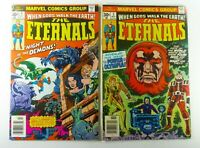 Marvel THE ETERNALS (1976) #4 FN #5 FN/VF LOT 1st THENA KIRBY Ships FREE!