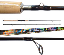 canna spinning carbonio prestige 1.80m 10/30g pesca blackbass cucchiaino