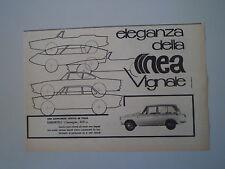 advertising Pubblicità 1963 DAIHATSU COMPAGNA 800 VIGNALE