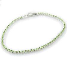 Unbranded Tennis White Gold Filled 14k Fashion Bracelets