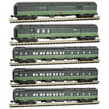 Micro-Trains MTL N-Scale Northern Pacific/NP Heavyweight Passenger Car 5-Pack