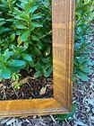 """Lovely Quarter Sawn Tiger Oak """"Faux"""" Mission Arts Crafts Antique Frame 21"""" x 23"""""""