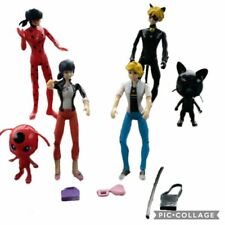 6pcs Miraculous Ladybug Action Figure Puppe Spielzeug Geschenk für Kinder Neu