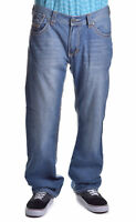 Xtreme Couture Men's V Flap Denim Relaxed Jeans Choose Size