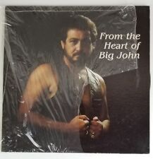 BIG JOHN EVANS From The Heart Of Big John Starr Records Private Press LP