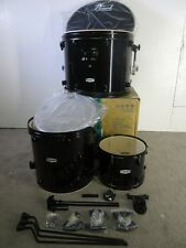 Pearl Forum Series 3 Piece Kit - Jet Black With Black Hardware - w/ ISS Mount