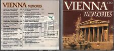 CD 18 TITRES VIENNA MEMORIES VOLUME 2 DE 2000 ORCHESTRA FRANCIS DUPOND .....TBE