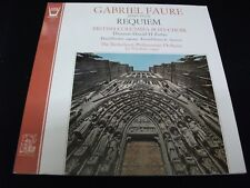 FAURE°REQUIEM<><DONALD FORBES<>RARE Lp Vinyl~France Pressing<>ARION ARN 38 338