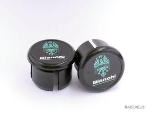 Bianchi Handlebar Plugs Bar End Caps vintage style retro guidons
