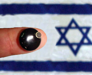 Smallest in world UHF FM spy bug microphone long range Made in ISRAEL !