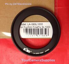 To CAMERA FUJI FINEPIX S8300 S8500 S8200 S8400 -> RING ADAPTER 58mm METAL