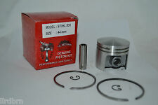 PISTON KIT AND RINGS FITS STIHL 031, STIHL PART # 1113-030-2001, 44MM KIT, NEW