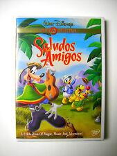 Disney Saludos Amigos DVD Donald Goofy Jose Carioca go to Andes Argentina Brazil