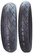 Full Bore USA 100/90-19 & 150/90-15 M66 Tire Set Kawasaki VN750/VN1500 Vulcan
