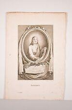 gravure 18° siècle, Jésus-Christ et instruments de la Passion d'ap Le Guide