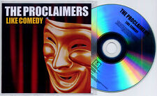 THE PROCLAIMERS Like Comedy 2012 UK 12-trk numbered promo test CD