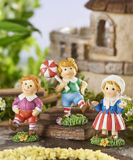 Fairy Garden Mini - Wizard of Oz - Munchkins - Set of 3