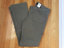 Emporio Armani Straight Leg light army green Jeans Sz32  98%Cotton 2%Spandex