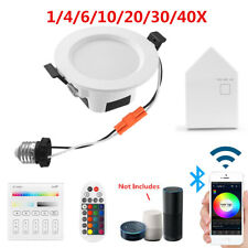 RGBWWCW LED Ceiling Lamp Down Light WIFI/Bluetooth APP Dimmable Music Spotlight