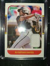 2021 Donruss Baseball Ke'Bryan Hayes Jersey Relic # 87M-Kbh Rc Pirates