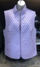Vest Ladies Quilted  TOGG SHOP orchid in excellent condition Size M