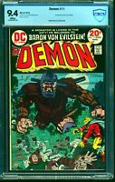 Demon #11 CBCS NM 9.4 White Pages