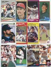 Huge Lot of 1000 Minnesota Twins Cards; 1986-1997; NM-Mint