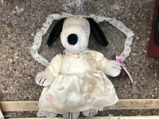RARE Vintage Belle Snoopy in Wedding Dress 1958