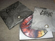 GRAVE -MORBID WAYS TO DIE- AWESOME RARE MASSIVE 6 PICTURE LP BOX SET TOP SHAPE