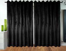 Cortinas color principal negro dormitorio